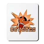 Coyotes Football Team Mousepad