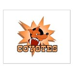 Coyotes Football Team Small Poster