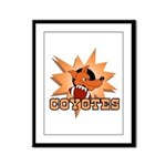 Coyotes Football Team Framed Panel Print
