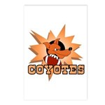 Coyotes Football Team Postcards (Package of 8)