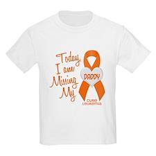 Missing My Dad 1 LEUKEMIA T-Shirt