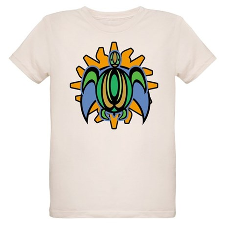 Dawn Turtle Organic Kids T-Shirt
