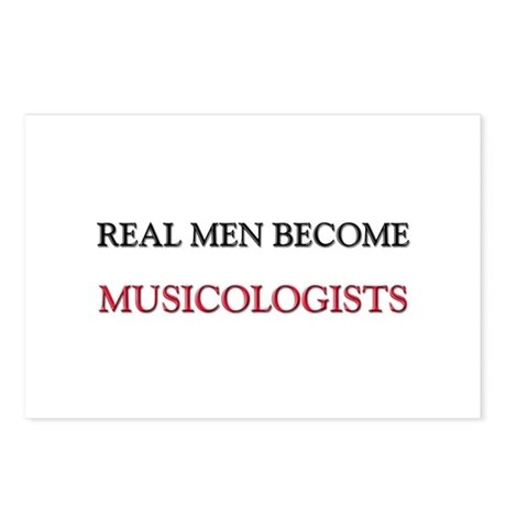 Real Men Become Musicologists Postcards (Package o