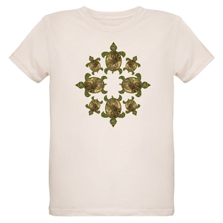 Garden Turtles Organic Kids T-Shirt