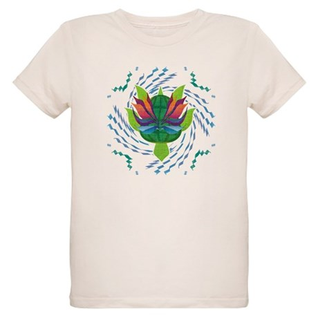 Flying Turtle Organic Kids T-Shirt