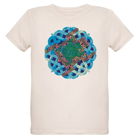 Celtic Turtle Organic Kids T-Shirt