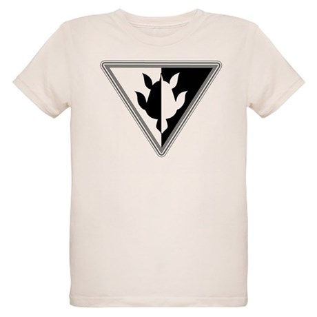 Triangle Turtle Organic Kids T-Shirt