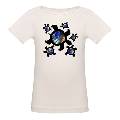 Earthly Turtles Organic Baby T-Shirt