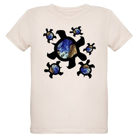 Earthly Turtles Organic Kids T-Shirt