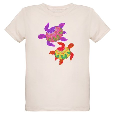 Painted Turtles Organic Kids T-Shirt