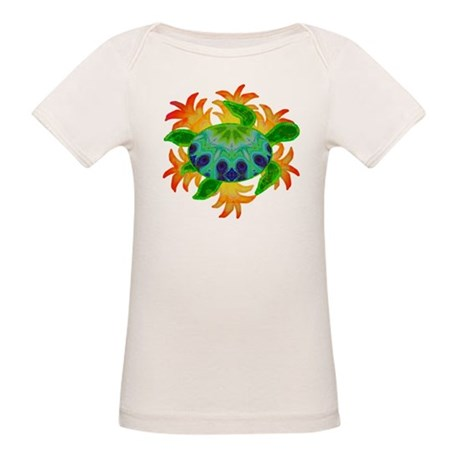 Flame Turtle Organic Baby T-Shirt