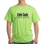 Cake Dude Green T-Shirt
