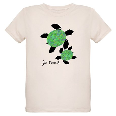 Sea Turtles Organic Kids T-Shirt