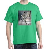griffin in flight Black T-Shirt