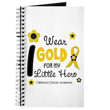 I Wear Gold 12 Little Hero CHILD CANCER Journal