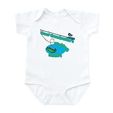 Great Grandmother's Fishing Buddy Infant Bodysuit