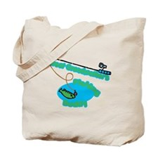 Great Grandmother's Fishing Buddy Tote Bag