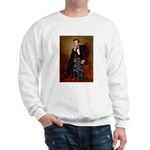 Lincoln / Flat Coated Retriev Sweatshirt