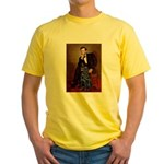 Lincoln / Flat Coated Retriev Yellow T-Shirt