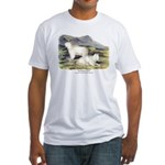 Audubon Mountain Goat Animal Fitted T-Shirt