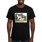 Audubon Mountain Goat Animal (Front) Men's Fitted