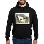 Audubon Mountain Goat Animal (Front) Hoodie (dark)