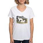 Audubon Mountain Goat Animal Women's V-Neck T-Shir