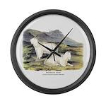 Audubon Mountain Goat Animal Large Wall Clock