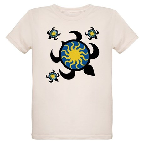 Sun Turtles Organic Kids T-Shirt