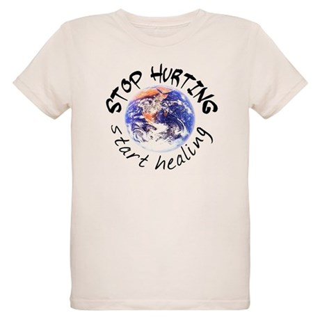 Start Healing the World Organic Kids T-Shirt