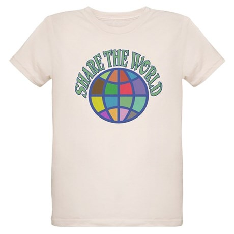 Share the World Organic Kids T-Shirt