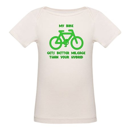 My Bike / Your Hybrid Organic Baby T-Shirt