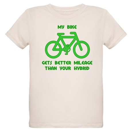 My Bike / Your Hybrid Organic Kids T-Shirt