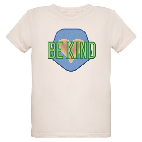Be Kind Patch Organic Kids T-Shirt