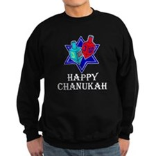 Star and Dreidels Sweatshirt
