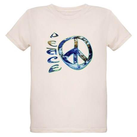 Earth Peace Organic Kids T-Shirt