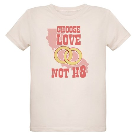 Love Not H8 Organic Kids T-Shirt