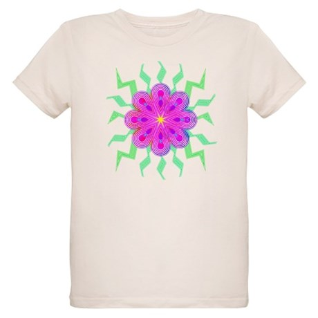 Flowers Organic Kids T-Shirt