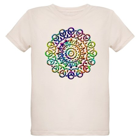 Rainbow Knots Organic Kids T-Shirt