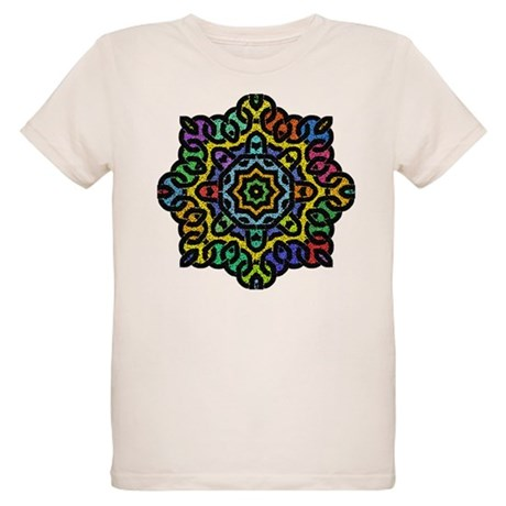 Colorful Knotwork Organic Kids T-Shirt