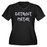 Detroit Metal Women's Plus Size V-Neck Dark T-Shir