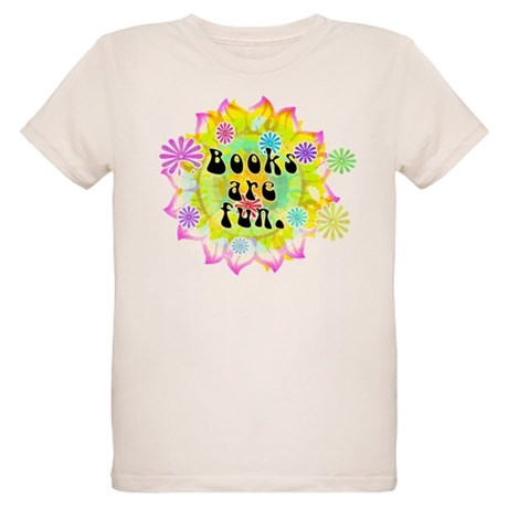 Books Are Fun Organic Kids T-Shirt