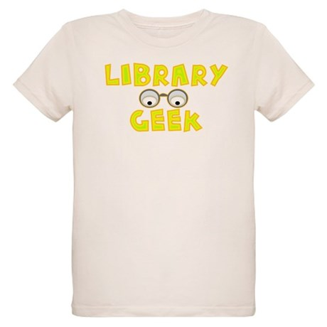 Library Geek Organic Kids T-Shirt