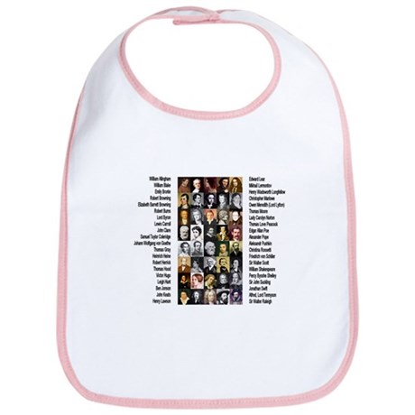 Famous Poets Bib