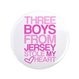 "3 Jersey Boys... 3.5"" Button"