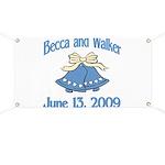 Personalized Wedding Tile Fav Banner
