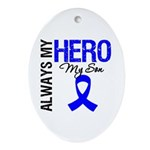 AlwaysMyHero Son Oval Ornament