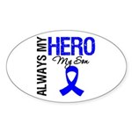 AlwaysMyHero Son Oval Sticker (10 pk)