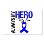 AlwaysMyHero Son Rectangle Sticker
