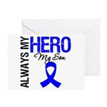 AlwaysMyHero Son Greeting Card